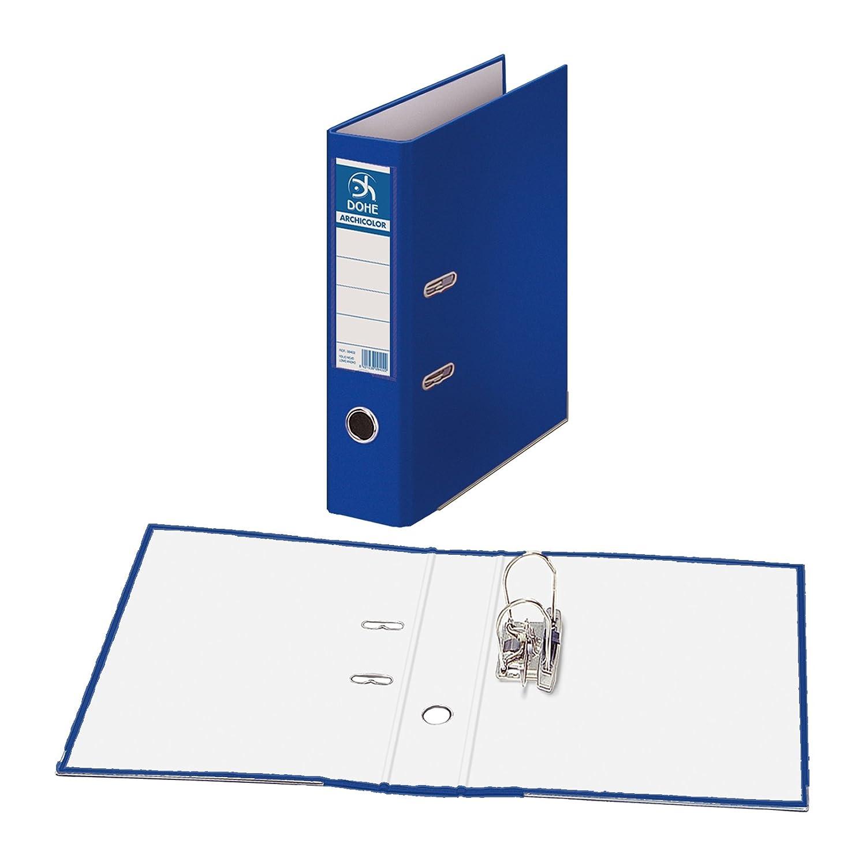 Dohe Archicolor - Archivador A4, lomo ancho, color azul: Amazon.es: Oficina y papelería