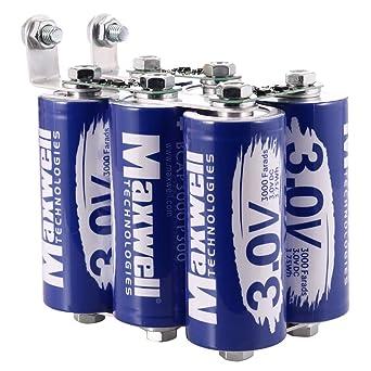 Maxwell 18V 500Farad super condensatore Batteria 3000farad
