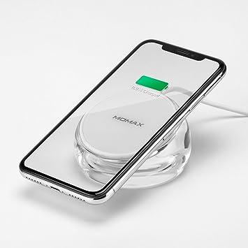 Momax - Cargador inalámbrico, 7,5 W, carga inalámbrica para iPhone ...