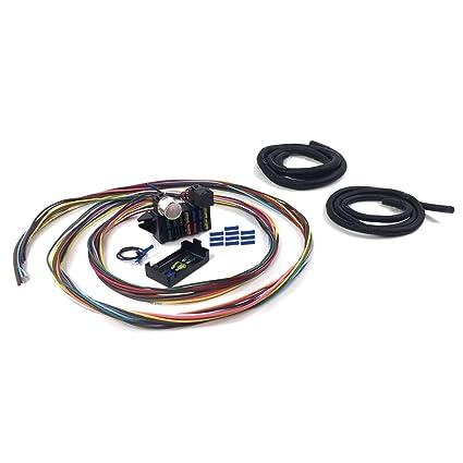 amazon com: johnny law motors kica33433 12 fuse 12v conversion wire harness  46 1946 ford sedan - standard: automotive