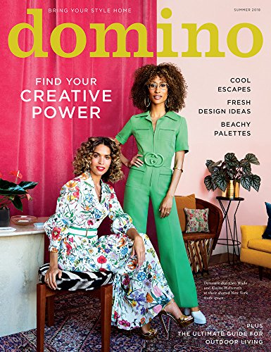 Domino Magazine (Summer, 2018) Cleo Wade and Elaine Welteroth Cover
