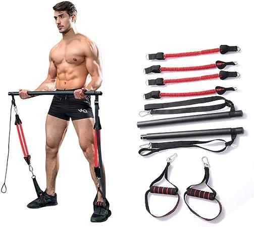 Yoga Pilates Bar Kit Pilates Stick Bar Kit, men's Fitness Equipment Waist  Exercise Chest expander Arm strength Bar Pilates Stick for Bodybuilding  Workout Pilates Stick Bar (Color : B): Amazon.co.uk: Sports &