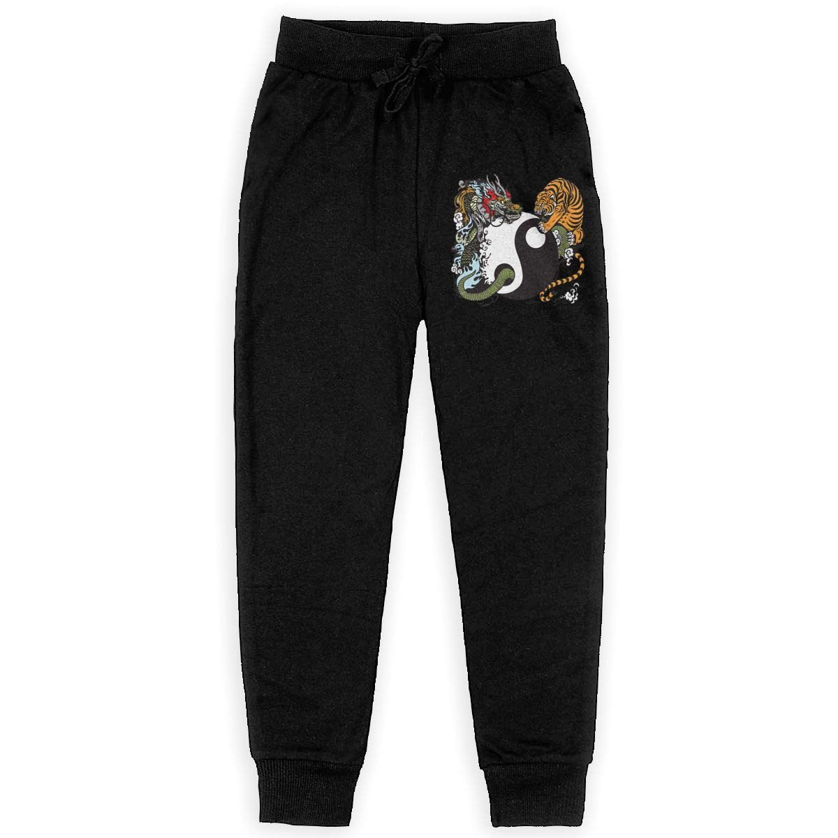 Dragon/&Tiger Boys Athletic Smart Fleece Pant Youth Soft and Cozy Sweatpants