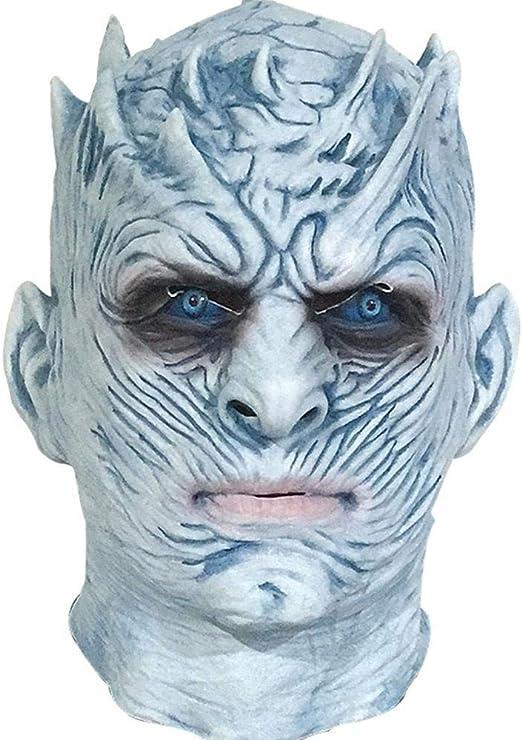 Littlefairy Máscara de Halloween, máscara de Terror, Peluca de látex para Disfraz: Amazon.es: Hogar