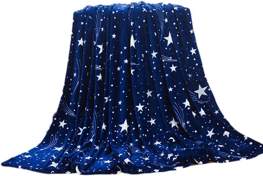 Ultra Chaud 100x70cm, Bleu fonc/é Ultra Cosy Ultra Cocooning Amlaiworld Plaid Couverture Polaire Taupe 50x70cm Couverture de Lit Douce et Chaude Plaid Jet/é de Canap/é Flanelle -Ultra Doux