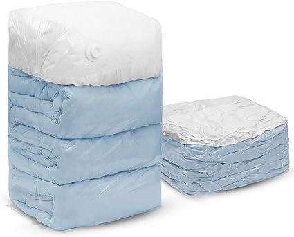 2 x 56x80x38cm TAILI Cubo Bolsas de almacenaje al vac/ío Bolsas ahorradoras de espacio 4 Piezas para almohadas edred/ón Manta Ropa Edredones 80 x 100 x 38 cm Funciona con cualquier aspiradora /&2 x