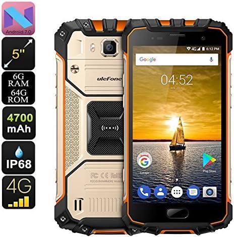 Ulefone Armor 2 Smartphone Helio P25 RAM 6GB Dual-IMEI 4G Android ...