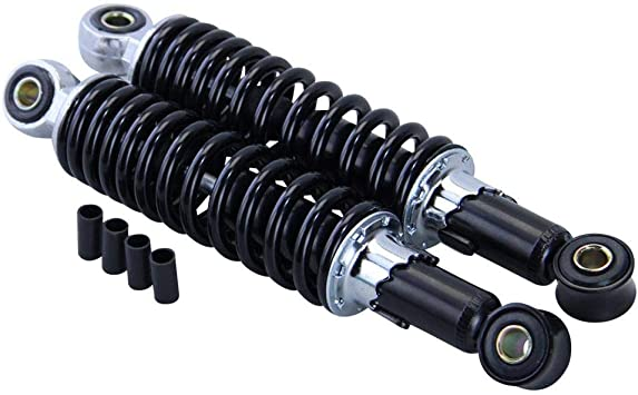 Stoßdämpfer Federbein Set 240mm Schwarz Für Zündapp Hercules Kreidler Simson Auto