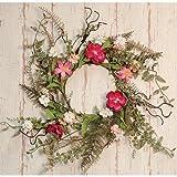 Heart of America Pink Gardenia Wreath 16''