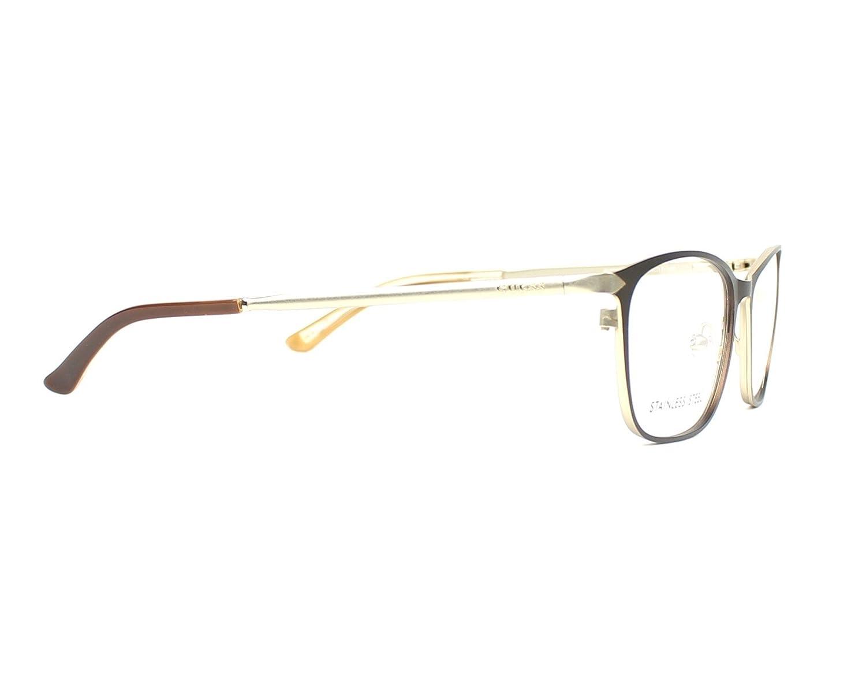 Guess frame Metal Matt Brown GU-2587 049 Gold
