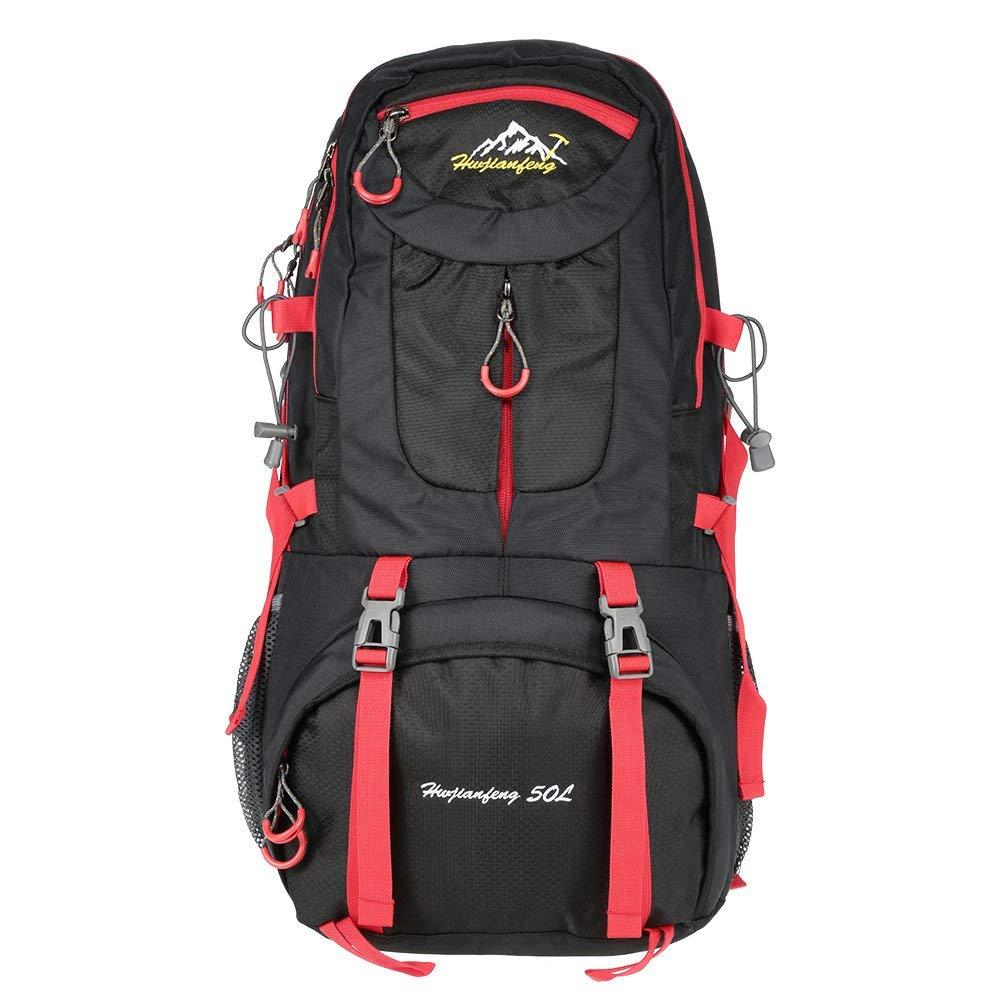 Lixada 男女兼用 50L 大容量 アウトドア スポーツ 登山 バックパック ハイキング トレッキング 旅行 バッグ ナップサック   B07HHVVK7P