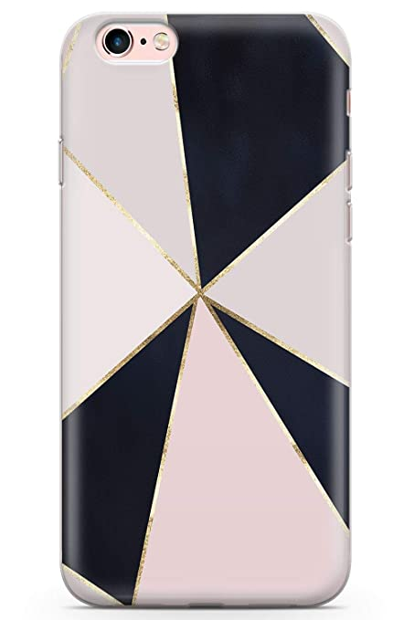 amazon com case warehouse iphone 6 plus case, fashion designercase warehouse iphone 6 plus case, fashion designer black pink geometric phone case clear ultra