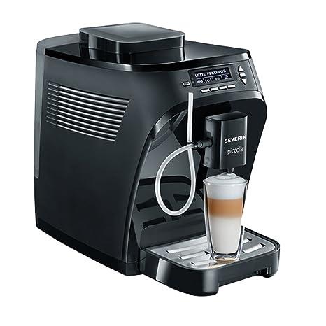 Severin KV 8055 Independiente Totalmente automática Máquina espresso 1.35L Negro - Cafetera (Independiente,