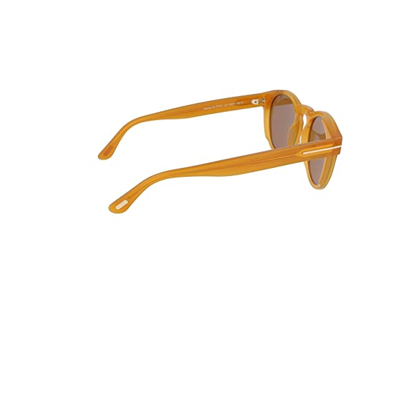 Yellow Giallo Tom Ford Unisex Adults/' FT0615 41E 50 Sunglasses