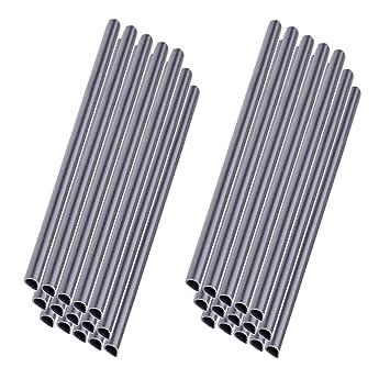 MCTECH 30pcs Clips de fixation universels Rails de serrage pour protecteur  d\'écran en PVC (gris, 30pcs)