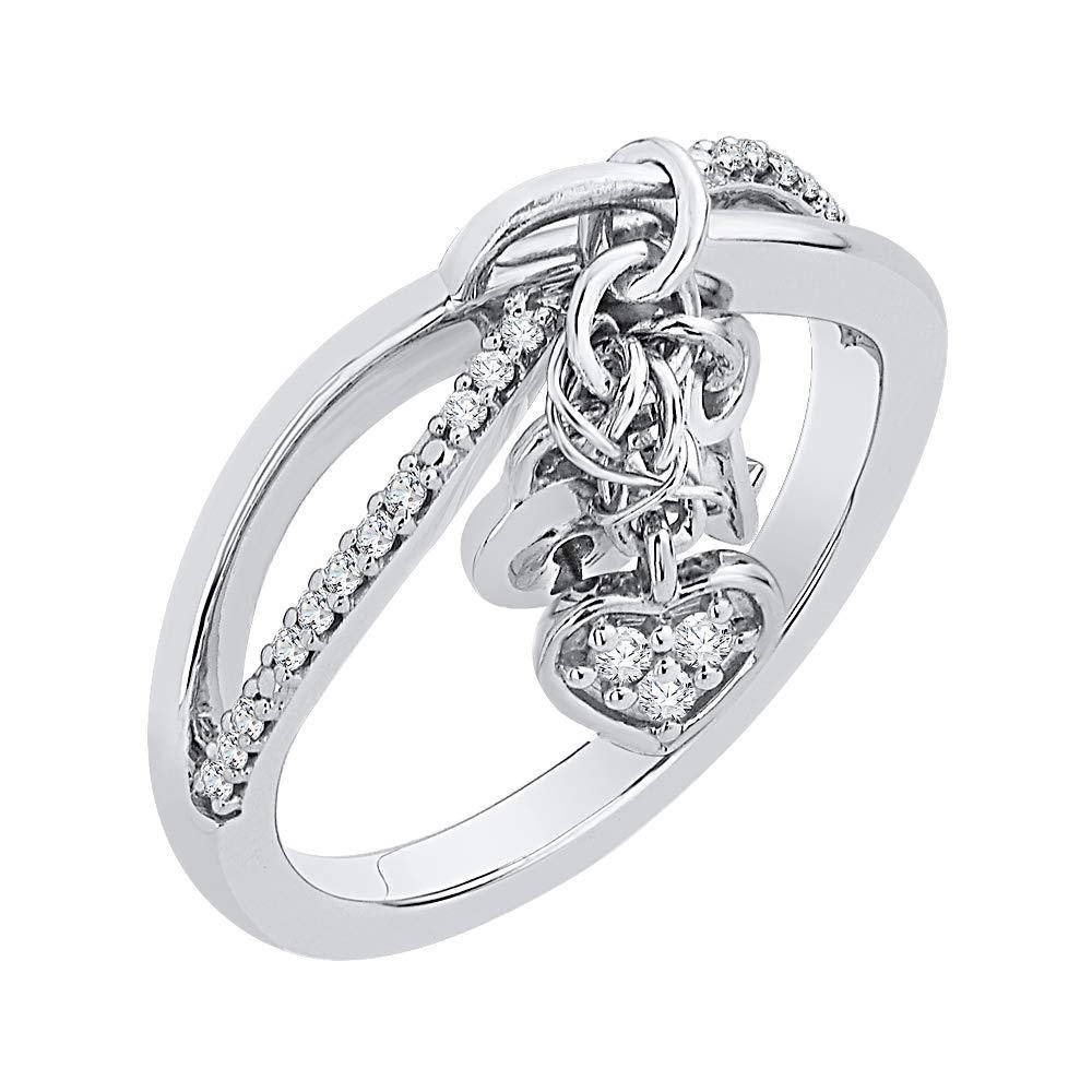 KATARINA - Llavero de infinito de diamante entrelazado y ...