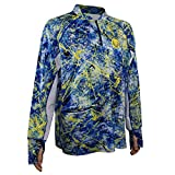 Wroxx Performance Fishing Wild Wave Long Sleeve Shirt. Comes packaged in a free Tackle Box S For Sale
