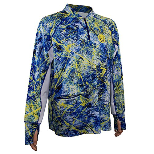 Wroxx Performance Fishing Wild Wave Long Sleeve Shirt. Comes packaged in a free Wroxx Tackle Box XL