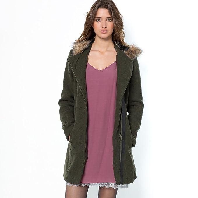 La Redoute - Abrigo - para mujer verde Dark Khaki Green 34