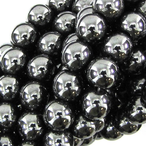 8mm black onyx agate round beads 16