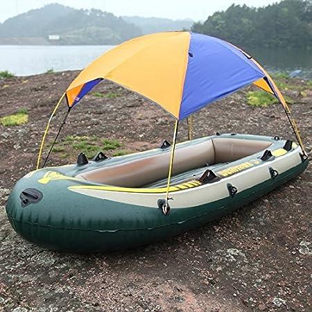 La nueva goma Flotador Hinchable barco toldo tienda de pesca ...