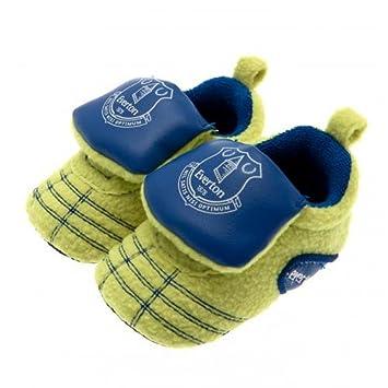 Everton FC oficial de fútbol bebé regalo bebé fútbol Neon cuna botas ( 3 f0fe82