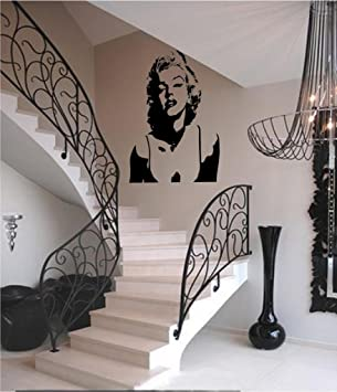 Marilyn Monroe Silhouette Version 4 Vinyl Wall Art Decal Part 53