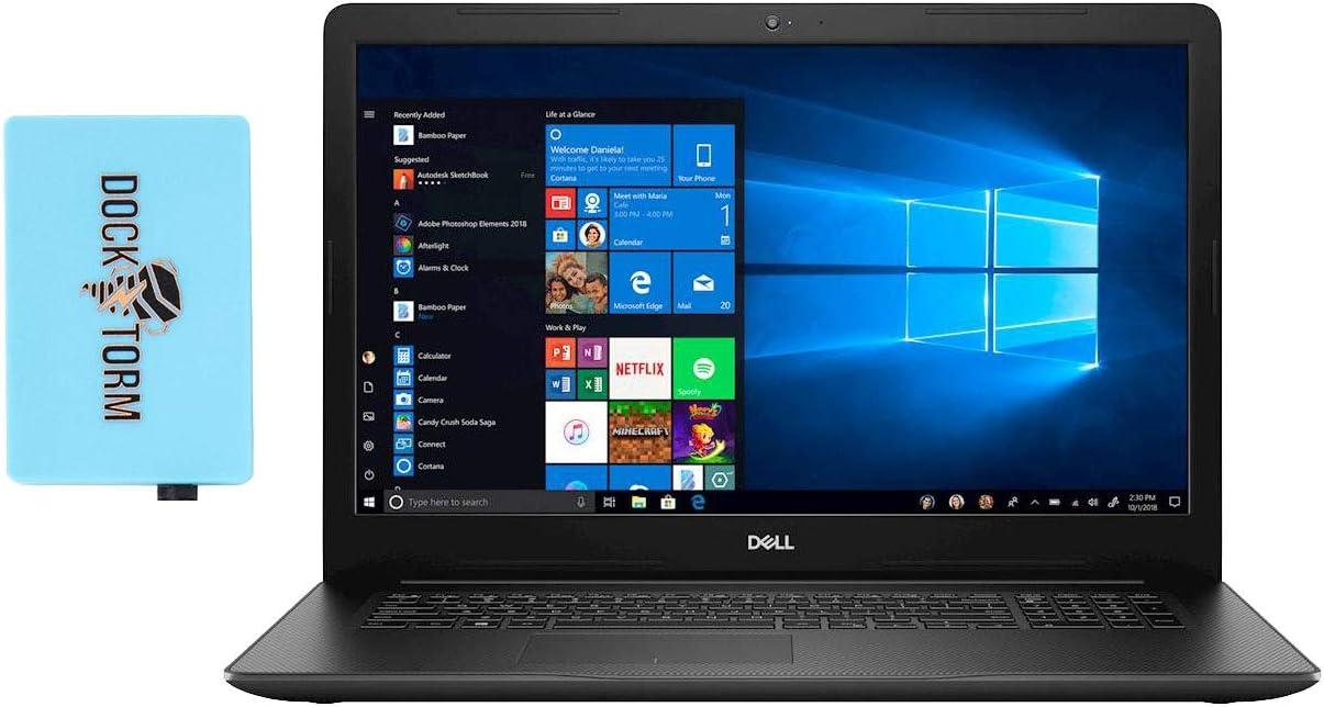 "Dell Inspiron 17 3793 Home and Business Laptop (Intel i7-1065G7 4-Core, 64GB RAM, 8TB PCIe SSD, Intel Iris Plus, 17.3"" Full HD (1920x1080), WiFi, Bluetooth, Webcam, 2xUSB 3.1, Win 10 Pro) with Hub"