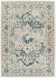 A.S Quality Rugs Large Distressed Rugs for Living Room 8x10 Blue Rug For Dining Rooms 8x11 Clearance Rugs Prime