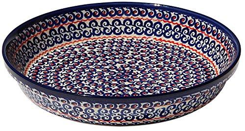 Polish Pottery Dish Pie Plate 10
