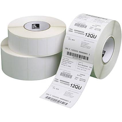 Zebra Z-Select pk - 8 - Etiquetas de impresora (Color blanco ...