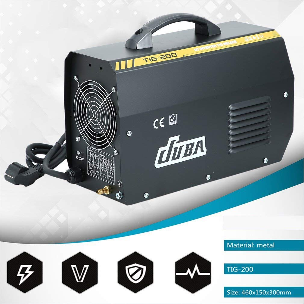 sweepid TIG soldador 200 amperios Inverter schw Hielo sgerät electrodo Soldador inverter 230 V/50 Hz: Amazon.es: Bricolaje y herramientas