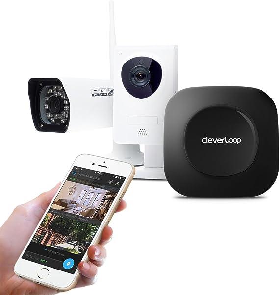 Kit de VideoVigilancia CleverLoop con 3 cámaras de Vigilancia IP ...
