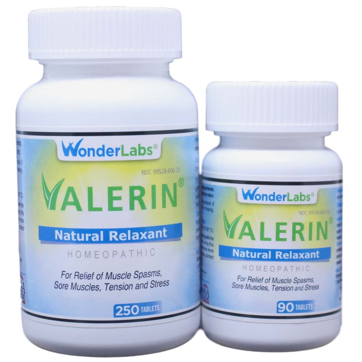 Leg Cramps and Muscle Cramps - All-Natural Relaxant Valerin - 340 Tablets
