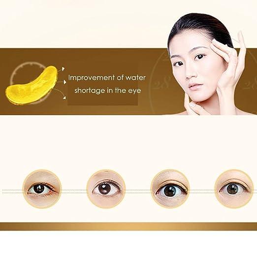 Máscara 24K ojos Quitar ojeras anti-arrugas hidratante anti ...