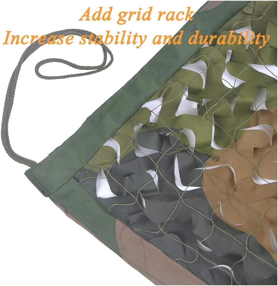 Filet Camouflage Militaire Renforce Filet de Camouflage Une Vari/ét/é Ta Filet de Camouflage Militaire Filet de Camouflage en Tissu Oxford // Housse de Camouflage Convient pour Camping de Chasse Cach/é