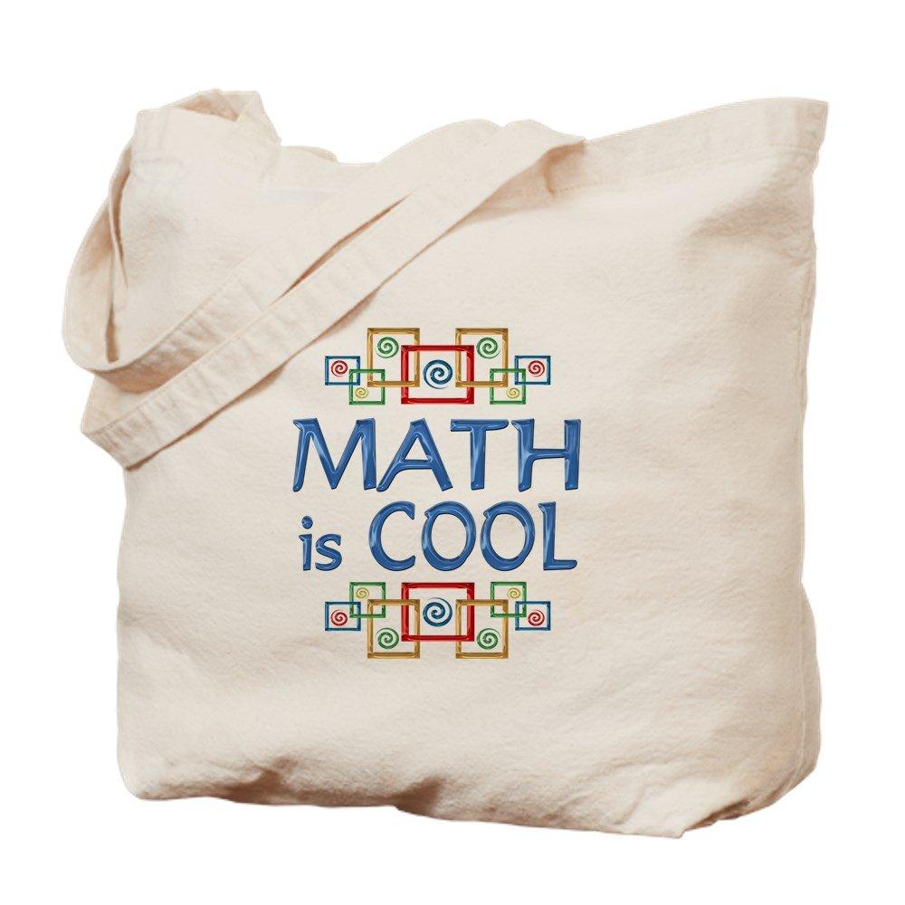 CafePress – 数学はクール – ナチュラルキャンバストートバッグ、布ショッピングバッグ B06Y47N4K7
