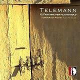 Telemann : Douze fantaisies pour flûte seule. Rossi.