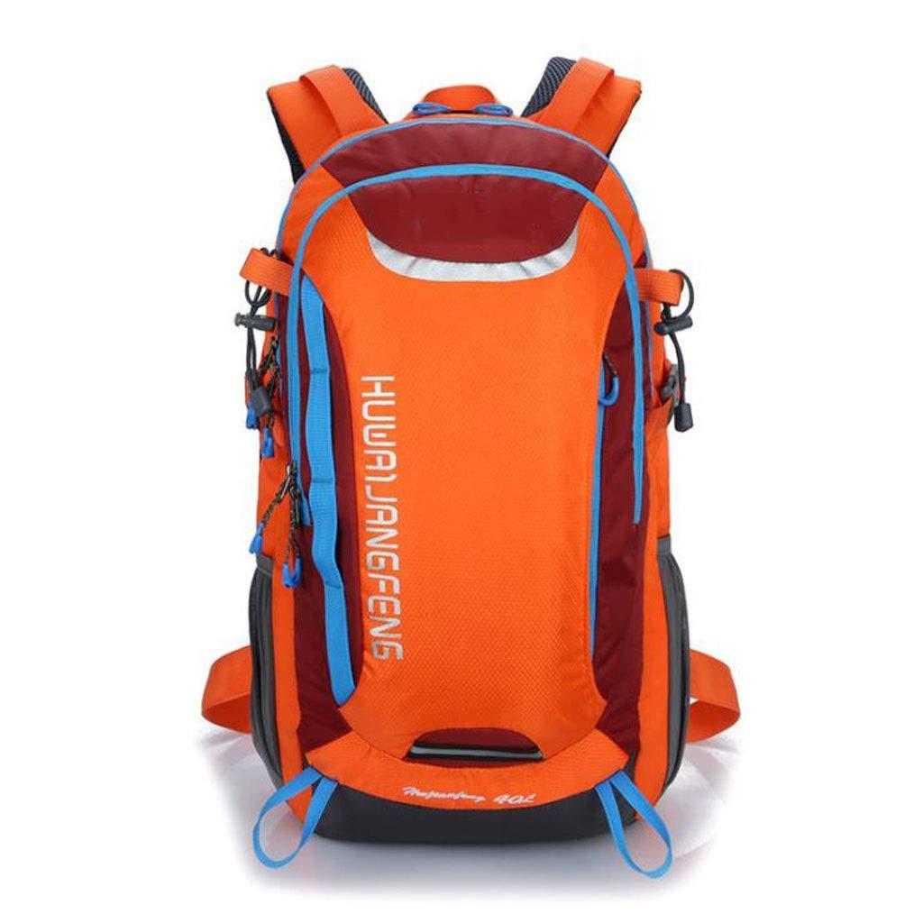 Orange322250cm  OVXVO444 Sac à Dos en Plein air Sac de Voyage étanche Sac à Dos Alpinisme Alpinisme 40L