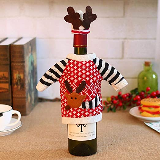 SPFAZJ Decoraciones de Navidad Mesa decoración Navidad Navidad Elk ...