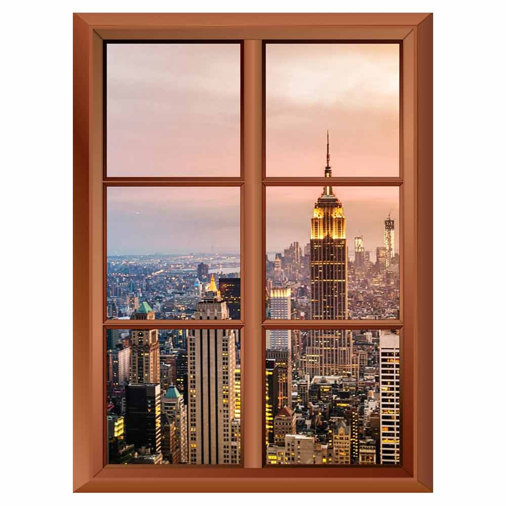 Removable Wall Sticker Wall Mural New York City Skyline ...