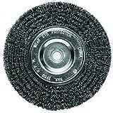 6 inch fine grinder wheel - Century Drill and Tool 76863 Fine Bench Grinder Wire Wheel Brush, 6-Inch