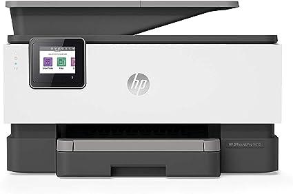 HP OfficeJet Pro 9010 - Impresora multifunción (imprime, copia, escanea, fax, Pantalla táctil en color, Memoria 512 MB, impresión y escaneado a doble cara, Wi-Fi), color basalt: Hp: Amazon.es: Informática