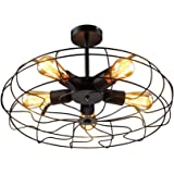 Stile Cf0110 22 Quot Anderson Enclosed Ceiling Fan Brushed