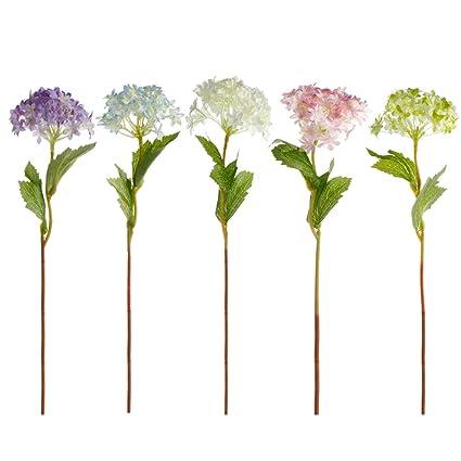 Amazon delight eshop 1510pcs artificial silk flower craft delight eshop 1510pcs artificial silk flower craft hydrangea for home mightylinksfo