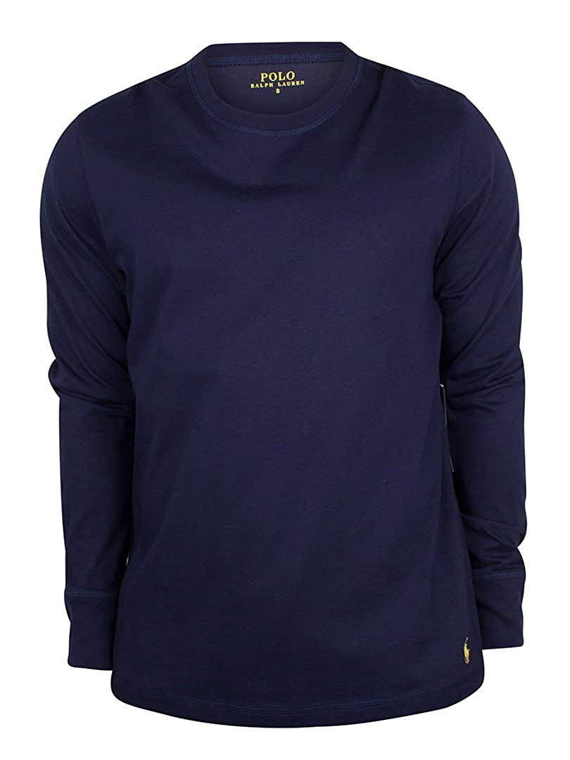 f88be5a52c655 Polo Ralph Lauren Men s Long Sleeve Long-Sleeved Top blue blue - blue -  Small  Amazon.co.uk  Clothing