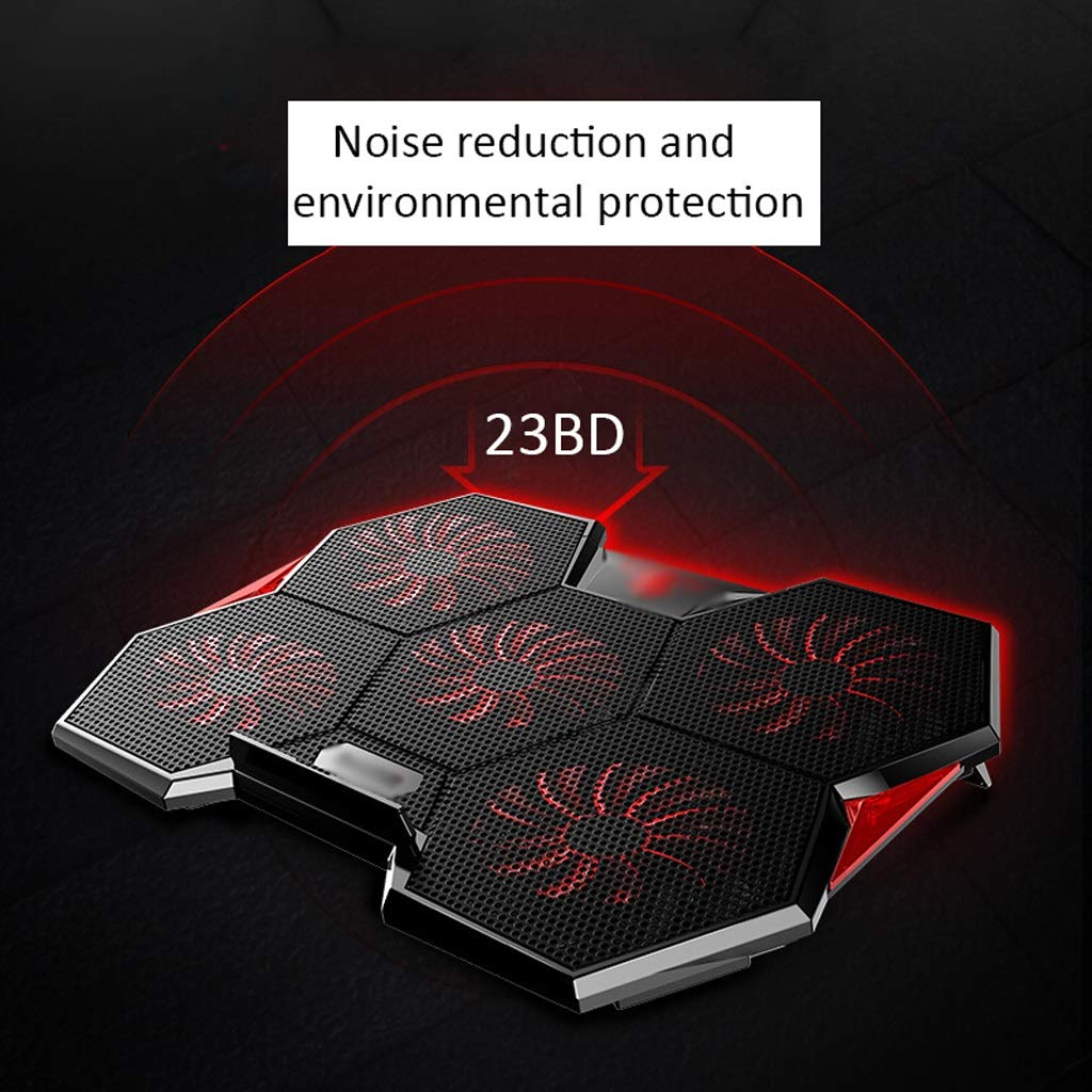 Notebook Stand Radiator Notebook Cooling Pad Mute Heat Sink (Color : B) by Zyj stores-Laptop Cooling Pads (Image #4)