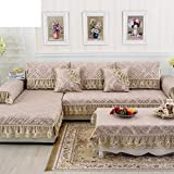 European Style,Luxurious, Sofa Towel/Anti-skidding ,Fabrics ,Simple Modern,Thicken,Winter,Living Room, Sofa/Cover Towel-F 78x300cm(31x118inch)