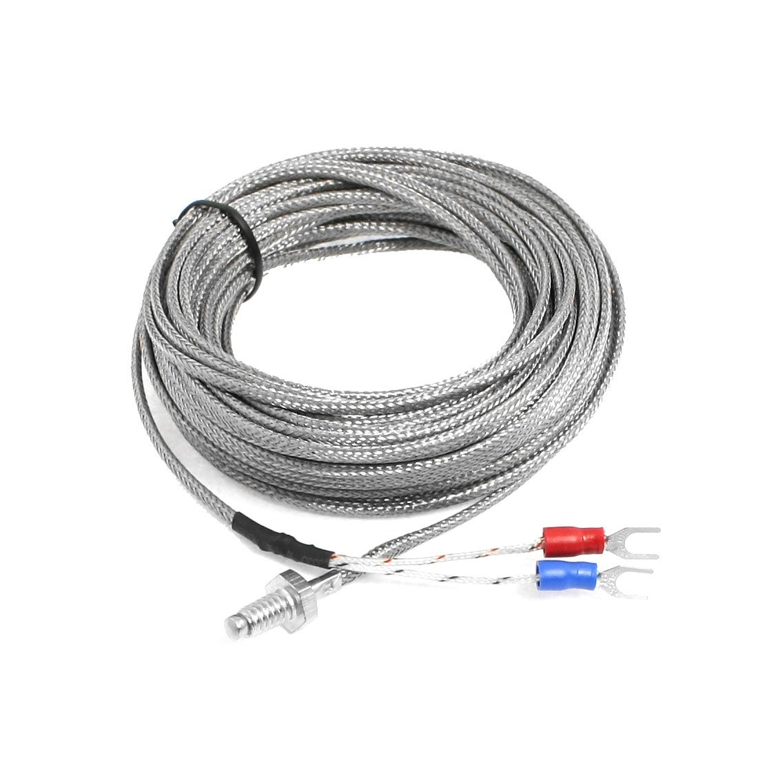 Temperature Controller 6mm Dia K Type Earth Thermocouple Probe 10M Sourcingmap US-SA-AJD-14767