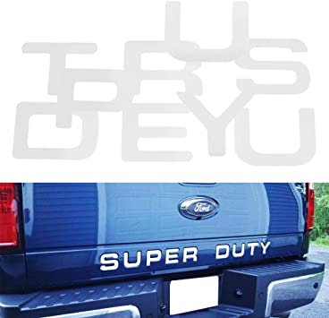 2008-2016 FORD SUPER DUTY DASH LETTERS INSERTS F-250 F-350 F-450 VINYL DECALS